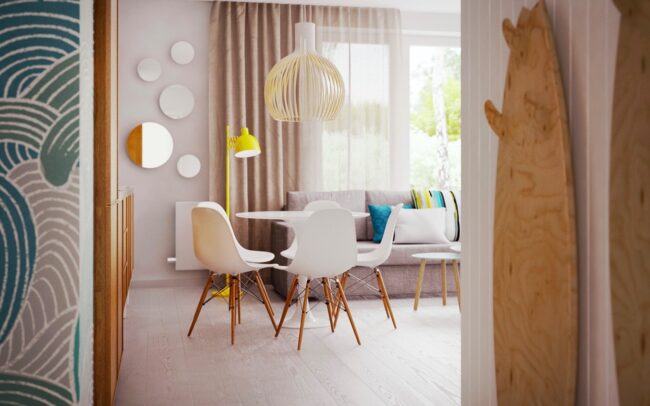 KL Wnętrza - apartamenty w Jastarni