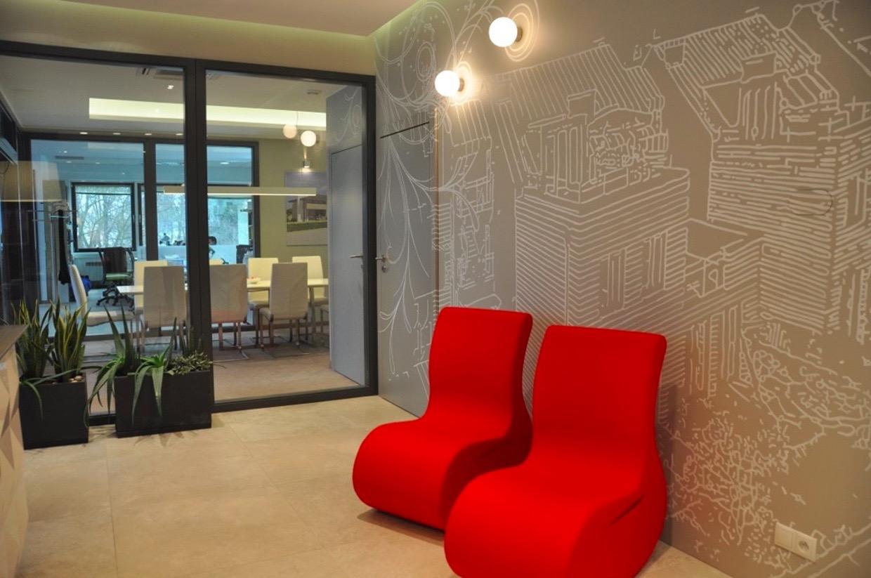 KL Wnetrza - projekt biura w Sopocie