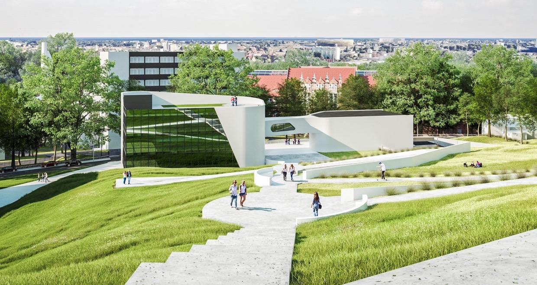 KL art design Centrum STOS Politechnika Gdańska konkurs