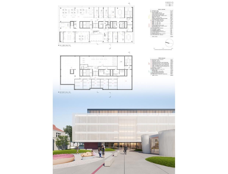 KL art design - III nagroda w konkursie - biurowiec DR Oetker