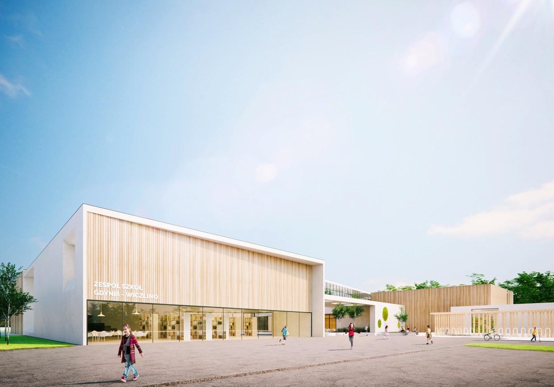 K&L art design Szkoła w Gdyni projekt konkursowy
